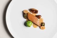 Duck with dates and Brussels sprouts | Chef William Bradley | San Diego