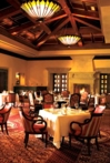 The dining room at Addison restaurant