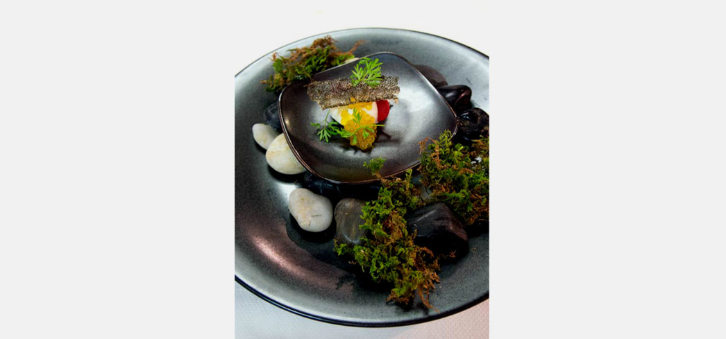 The mousse sable fish from Aubergine | Chef Justin Cogley | Carmel-by-the-Sea