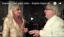 Exclusive video interview with chef Jean Joho, Everest restaurant, Chicago