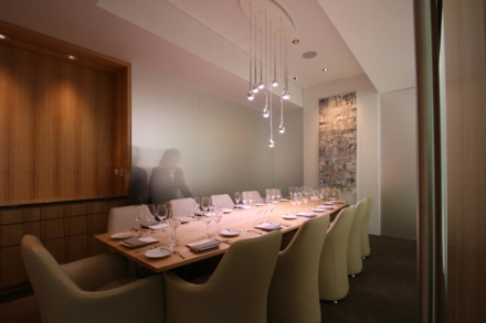 Private room at Grace | Chef Curtis Duffy | Chicago