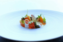 Tomato, Osetra caviar at Grace | Chef Curtis Duffy | Chicago