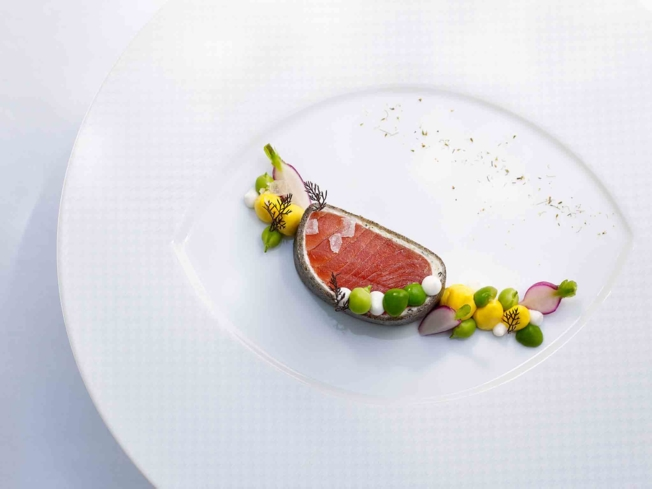Wild king salmon | The French Laundry | Chef Thomas Keller | Yountville