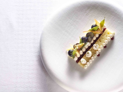 Sponge cake | The French Laundry | Chef Thomas Keller | Yountville