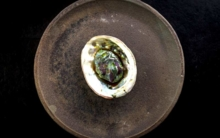 Abalone from The Restaurant at Meadowood
