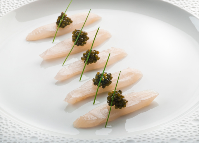 King Fish Caviar at Le Bernardin