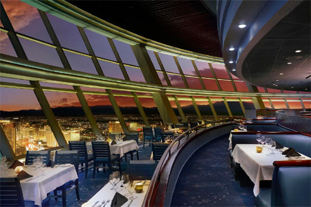 Dining room of Top of The World in Las Vegas, NV