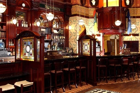 Interior of Nine Fine Irishmen in Las Vegas, NV