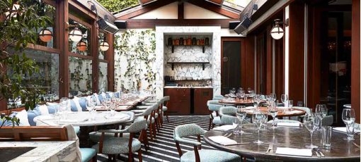 Celebrity sightings are often apart of the experience at Cecconi's, One of GAYOT's Top 10 Restaurants for star spotting in LA