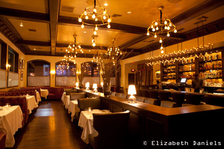 Dining room of Crossroads Kitchen in Los Angeles, CA