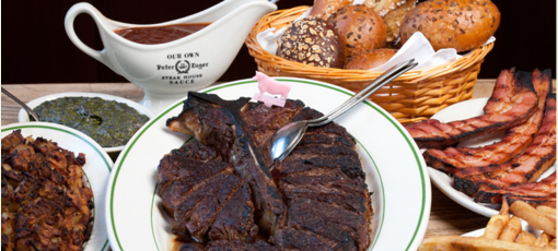 Peter Luger steakhouse in Brooklyn delivers plus-size porterhouse steaks (Michael Berman / Peter Luger)