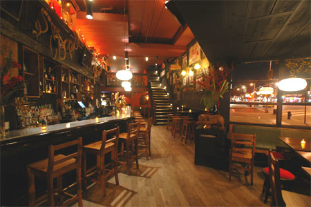 Interior of Galway Hooker in New York, NY