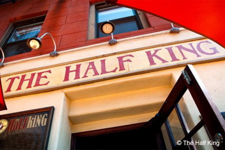 Exterior of The Half King in New York, NY