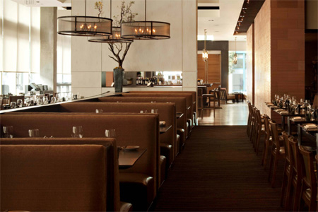 Dining room of Prospect in San Francisco, CA