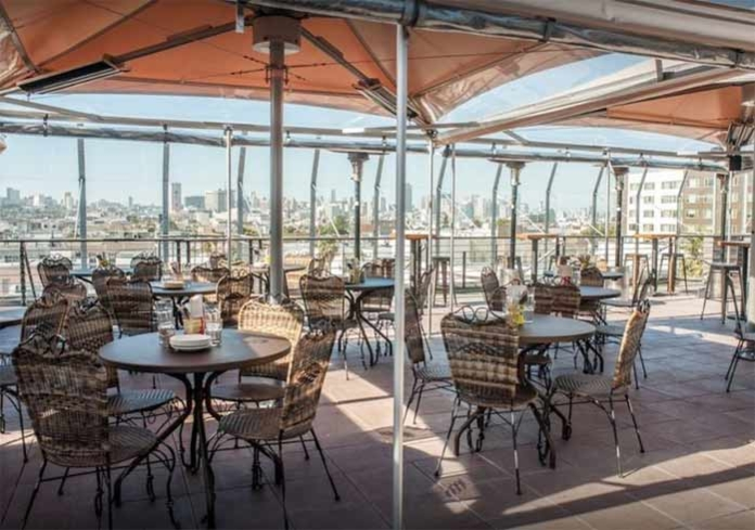 El Techo de Lolinda in San Francisco offers one of the city's most incredible rooftop experiences