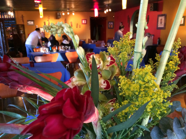 Cafe Brazil, Denver: A view of Cafe Brazil's dining room and décor
