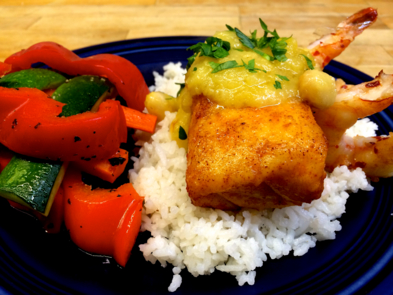 Cafe Brazil, Denver: Grouper Pineapple