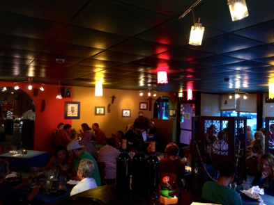 Cafe Brazil, Denver: Dining Room