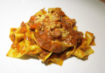 DOMA: Homemade pappardelle Bolognese