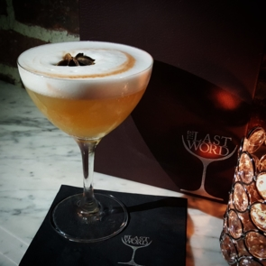Fat Monk cocktail at The Last Word in Queens (Courtesy of The Last Word's Twitter)