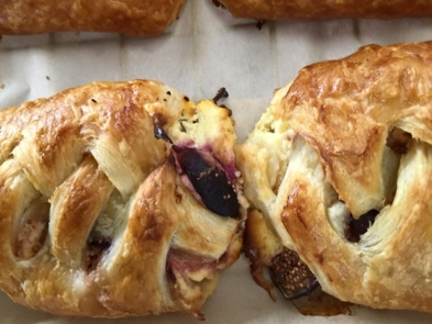 Cheese and fig Danish at Nabolom Bakery in Berkeley
