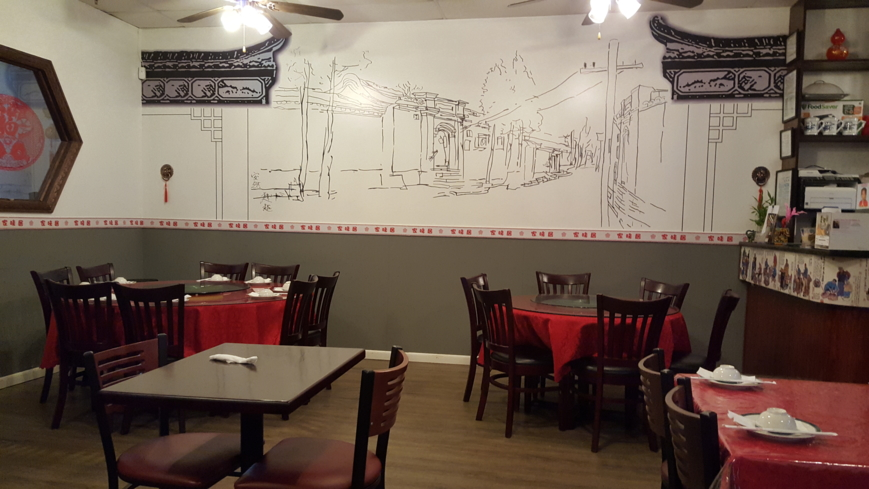 Dining room of Xin's Chinese Cuisine in Duluth, GA