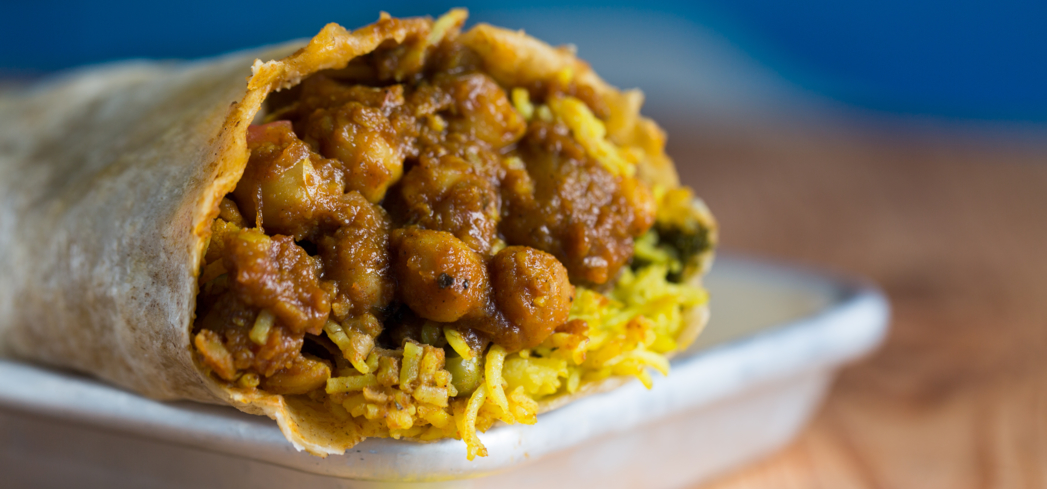 Indian food from Curry Up Now in San Francisco, CA