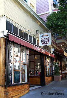 Exterior of Indian Oven in San Francisco, CA