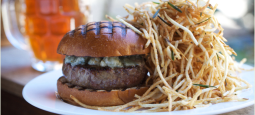 Discover the best burgers in America, including The Spotted Pig (Photo credit: Clay Williams)