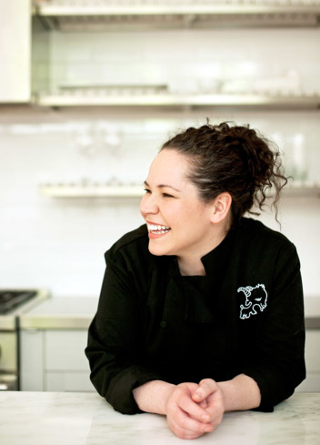 Chef Stephanie Izard of Girl & The Goat in Chicago, IL