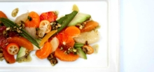 Citrus salad | Lucques restaurant, Chef Suzanne Goin, West Hollywood, CA