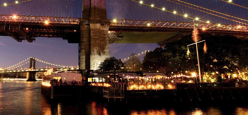 The River Café in Brooklyn is one of America's Best Restaurants with a View