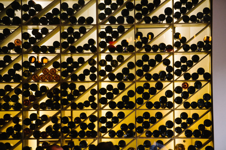 Frasca Food and Wine: Wine wall (Photo credit: James Christianson)
