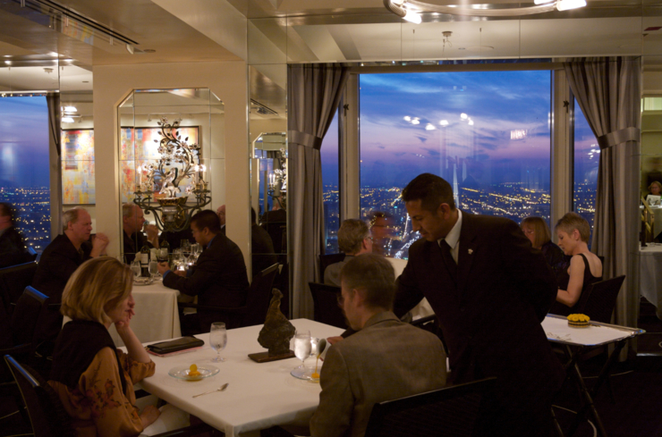 Everest: Dining room overlooking Chicago