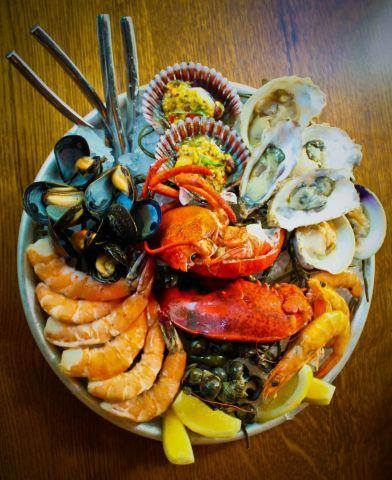The Grand shellfish platter at Water Grill (Photo courtesy of Water Grill's Facebook)
