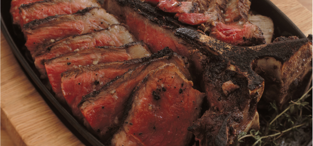 Porterhouse steak for two at CUT Beverly Hills