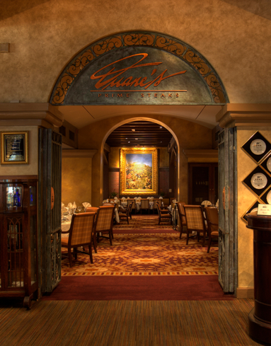 Duane's Prime Steaks & Seafood at The Mission Inn Hotel & Spa in Riverside, CA