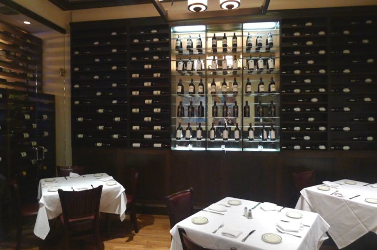 Dining area at Wolfgang's Steakhouse by Wolfgang Zwiener in Beverly Hills, CA