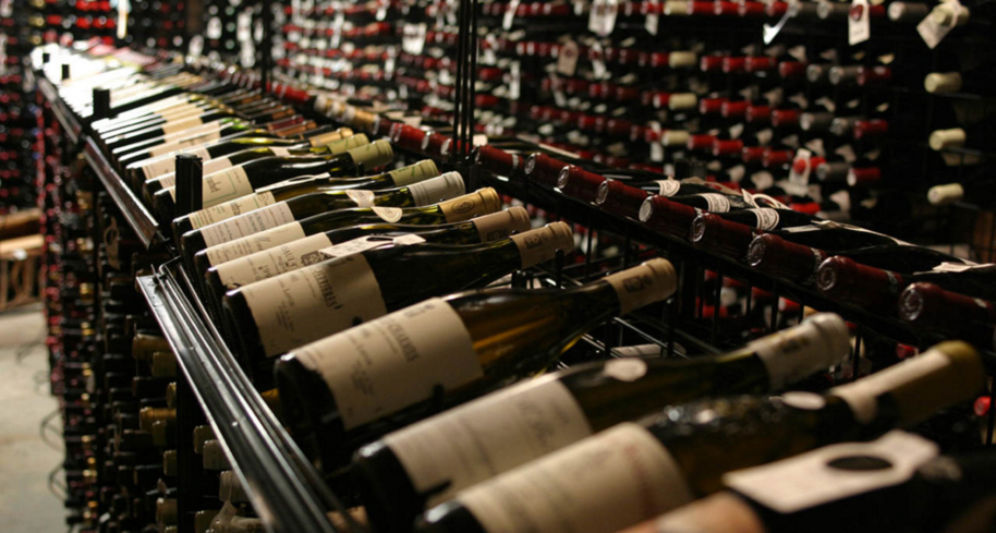 Blantyre: The massive wine list features labels from around the world