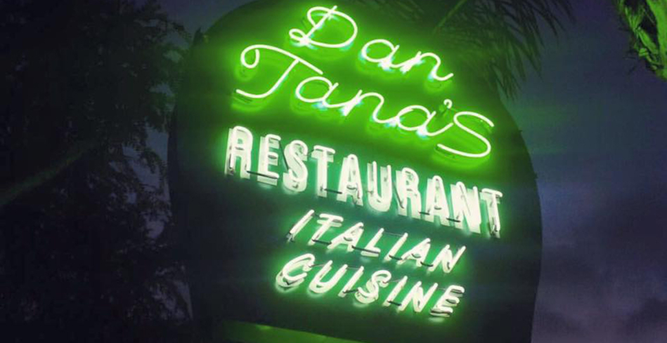 The infamous sign outside Dan Tana's, West Hollywood