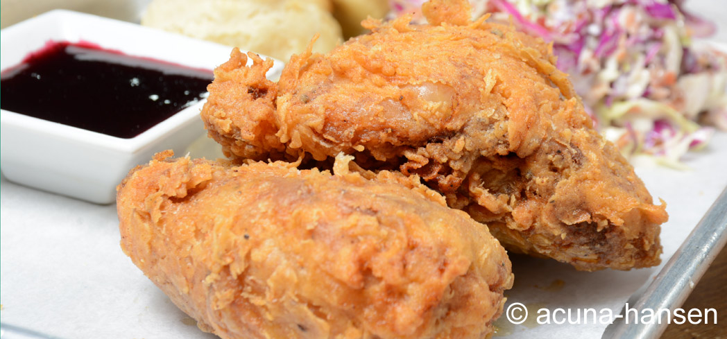 The fried chicken available Super Bowl Sunday at Hyperion Public