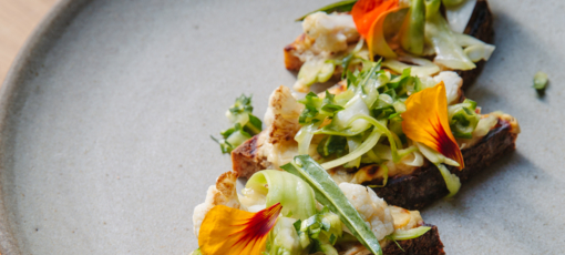 Top 25 Restaurants in San Francisco to Eat at Right Now: Cauliflower toast at The Perennial (Photo credit: Alanna Hale)