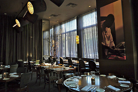 Dining room of 1300 on Fillmore in San Francisco, CA