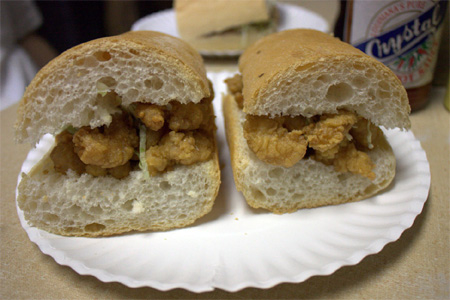 At Domilise's, the po' boy becomes an art form.
