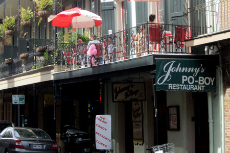Johnny's has been serving the Quarter's best po' boys since Harry Truman was president.