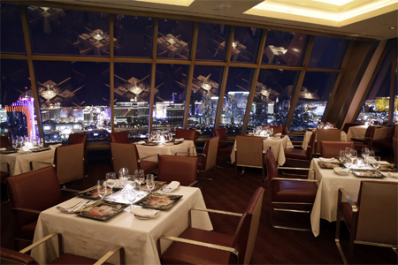 Dining room of Alize at the Top of the Palms in Las Vegas, NV