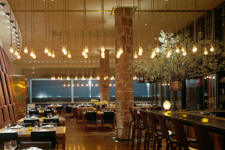 Dining room of Craft in New York, NY