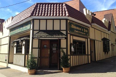 Exterior of Donovan's Pub in Woodside, NY