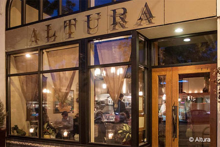 Dining room of Altura in Seattle, WA