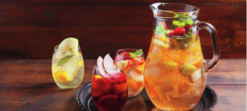 Sangria at Julian Serrano in Las Vegas (photo courtesy of Aria Resort & Casino)